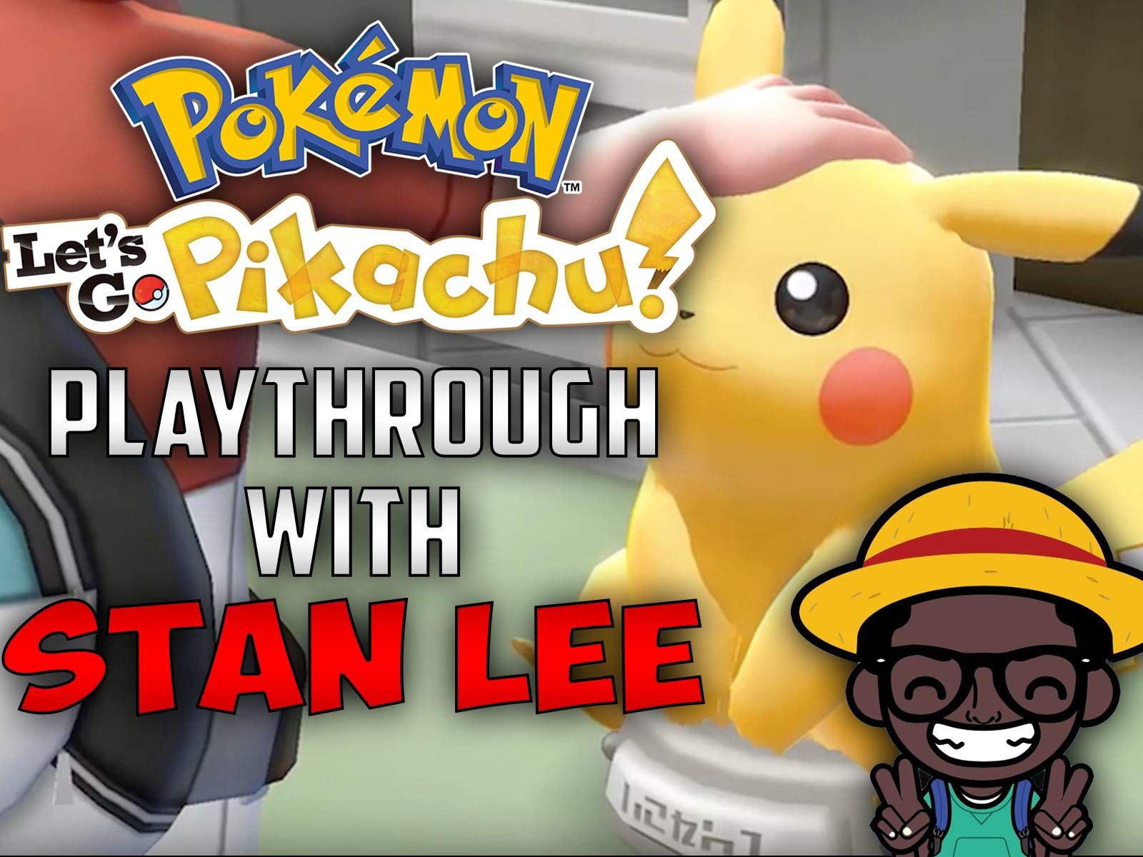 Pokemon Let's Go Pikachu Playthrough With Stan Lee on Amazon Prime Instant Video UK