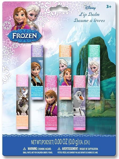 Frozen Lip Balms, 6 Count