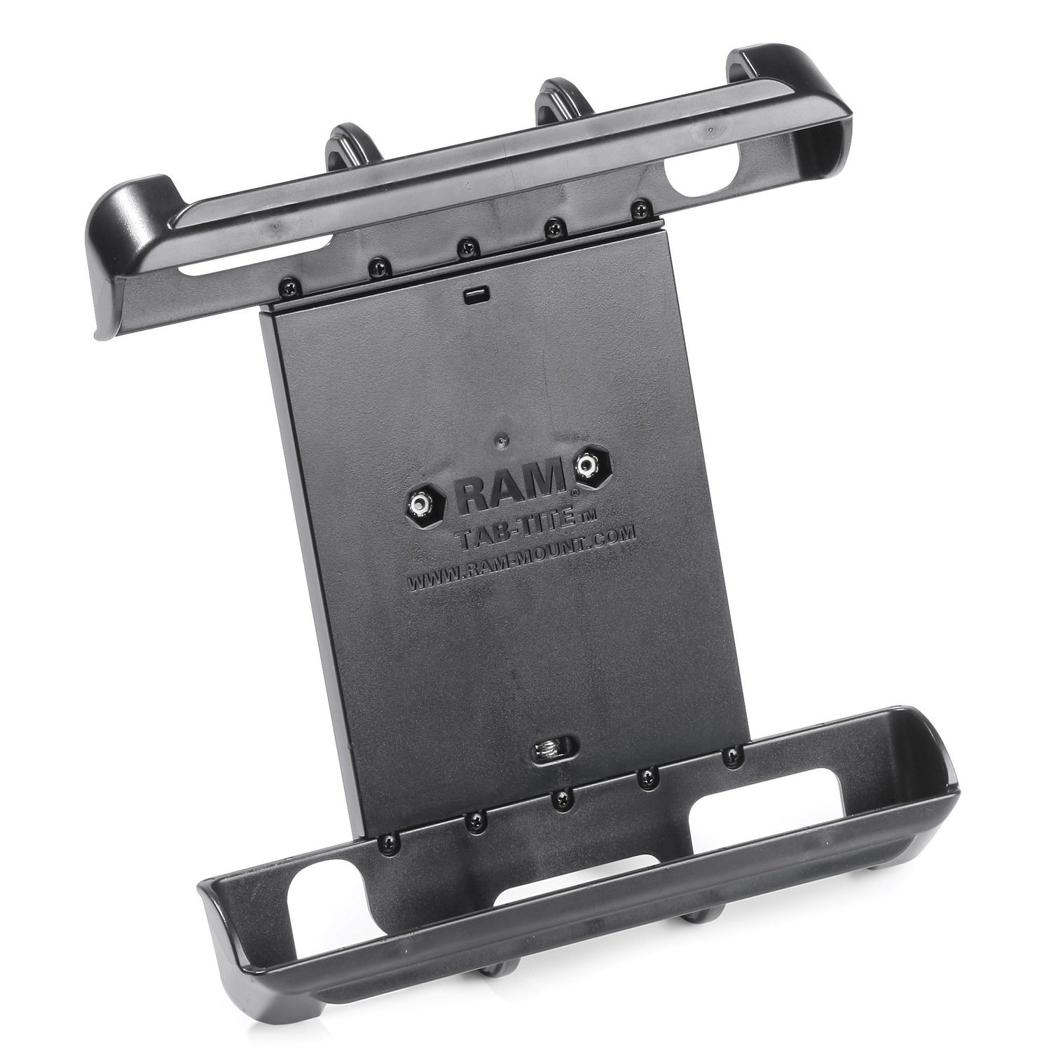 RAM Mounting Systems - RAM Mount Tab-Tite Universal Clamping Cradle f/10 Screen Tablets With or Without Heavy Duty Cases ram mounting systems ram mount 3 68 round base w 3 38 e size ball product category ram mount store e size