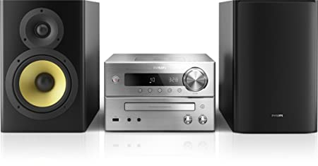 Philips BTD7170/12 Micro Chaine bluetooth NFC Aptx DVD HDMI Dolby Digital 150W