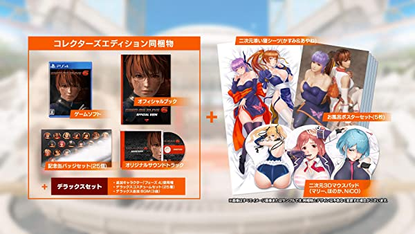 DEAD OR ALIVE 6 Strongest package - PS4 Japanese Ver.