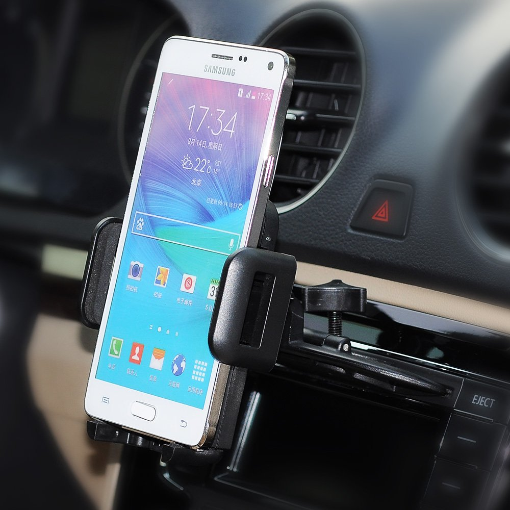 cd phone holder