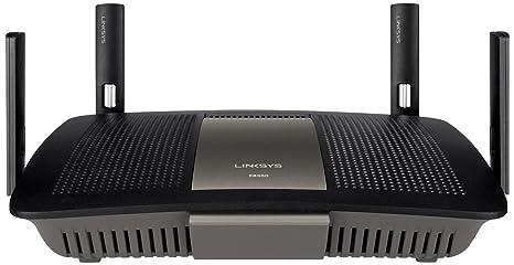 Linksys - E8350-EJ - Routeur WiFi Gigabit AC2400 Double Bande - Noir