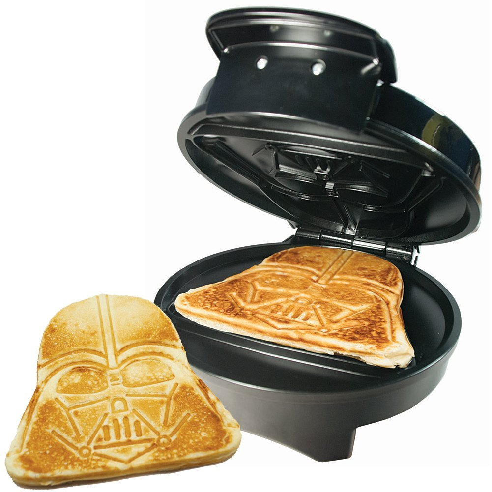 Star Wars Decor Items: darth vader waffle maker