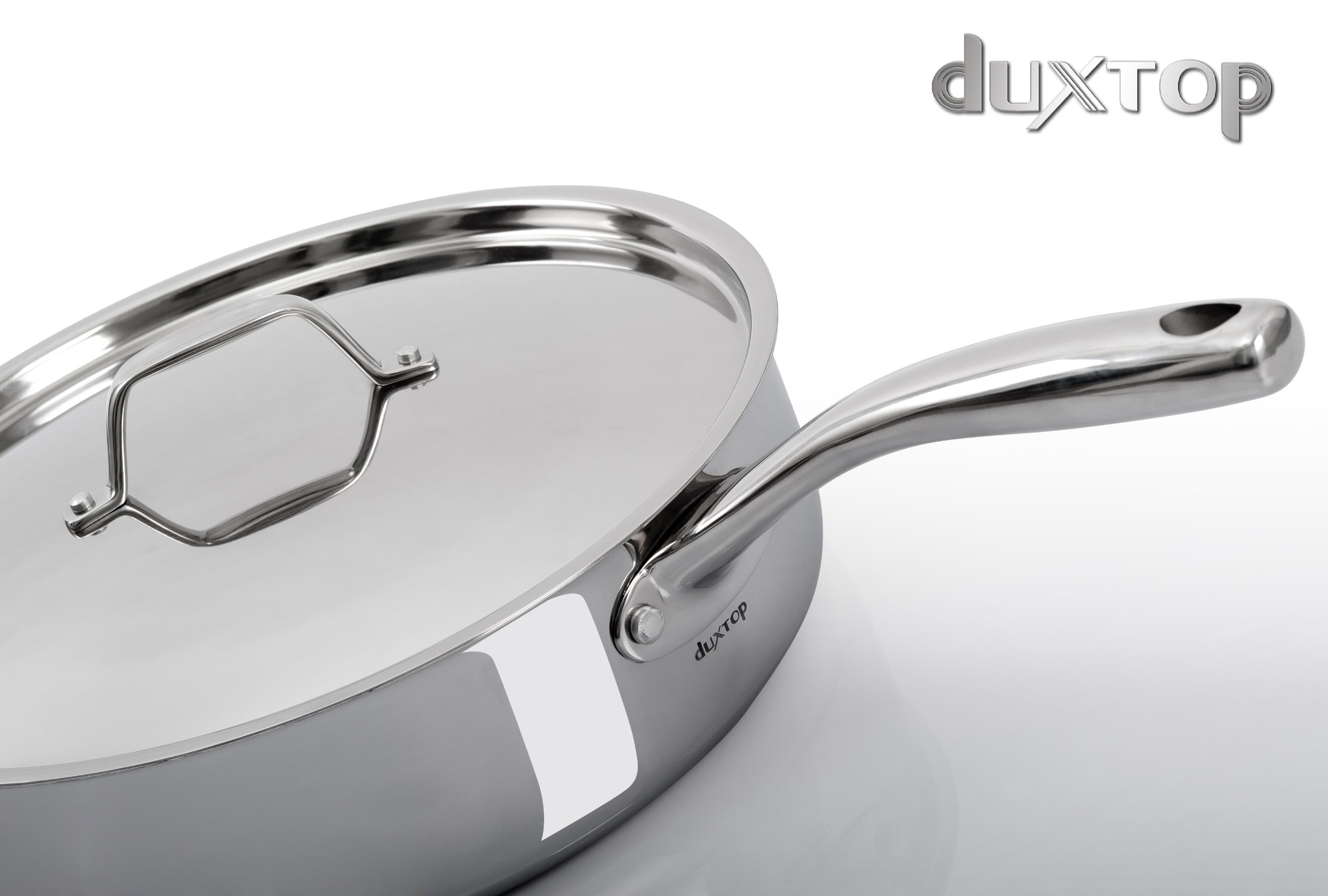 Duxtop Whole Clad Tri Ply Stainless Steel Induction Ready