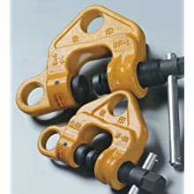 "Elephant Lifting WF-2 Screw Type Clamp, 2 ton Capacity, 0.003"" - 1-49/64"" Jaw Opening, Made in Japan"