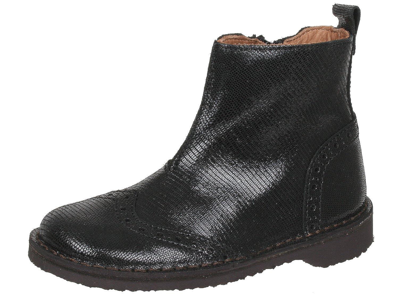Bisgaard Schuhe mit Budapester Muster, Mädchen Stiefeletten