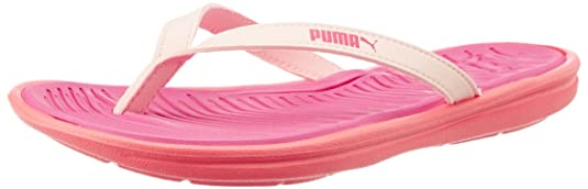 Puma Women's Clogs and Mules - Flip Flops - Plastic Moulded at amazon