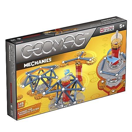 Geomag - 722 - Jeu de Construction - Mechanics - 146 Pièces