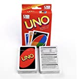 Indiana Bones Trading Company Original UNO Card Game with 108 cards and 1 Free Beautiful Red Travel Tin