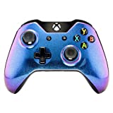 eXtremeRate Custom Design Unique Chameleon Chamillionaire Glossy Top Shell Case Front Housing Replacement Faceplate Kits Xbox One Remote Controller Cover