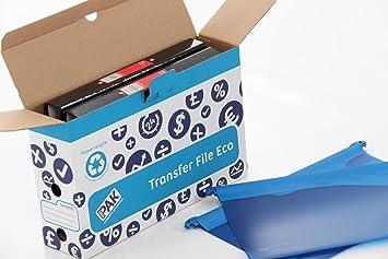 Storepak eco bo te de de classement bleu papier ministre lot de 10 fournitures de bureau m470 - Classement papier bureau ...