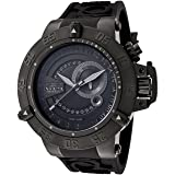 Invicta Men's 0326 Subaqua Noma III Collection GMT Black Rubber Watch