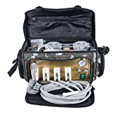 Enshey Portable Unit with Air Compressor, Suction System (Camouflage) (Color: Camouflage)