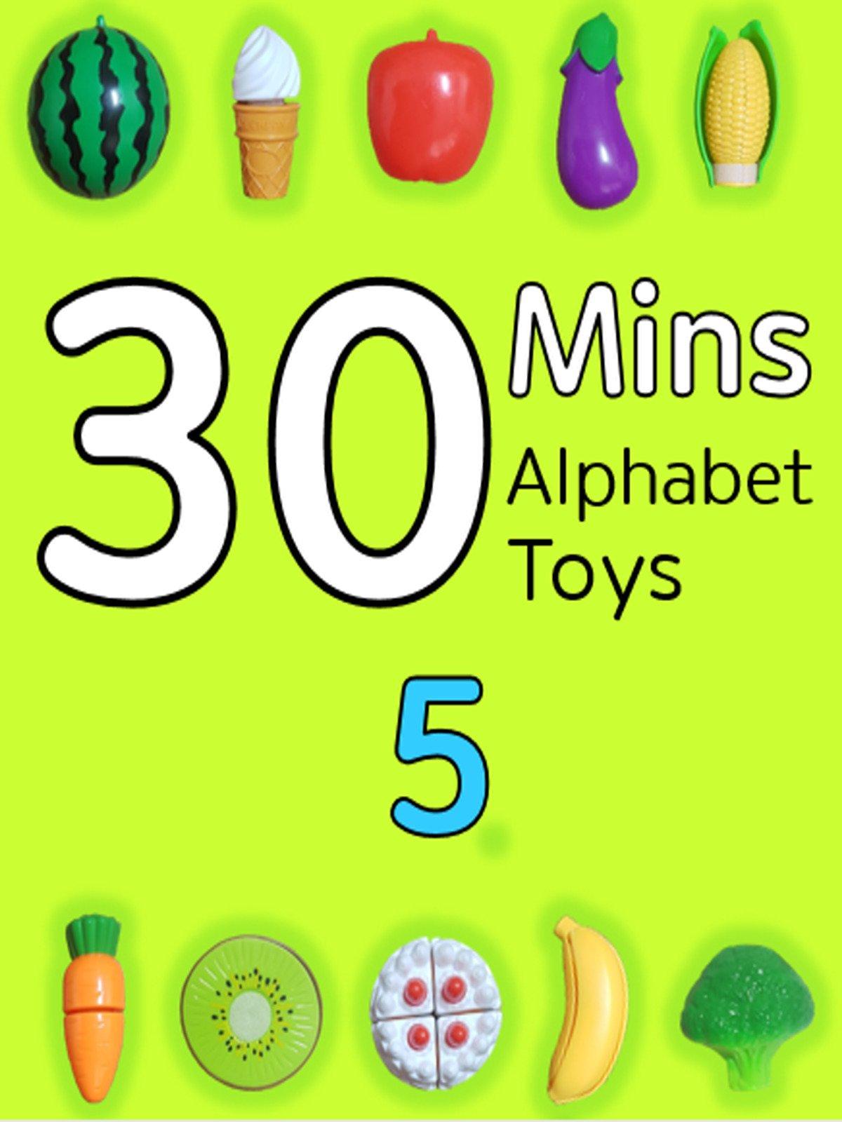 30 Minutes Alphabet Toys #5