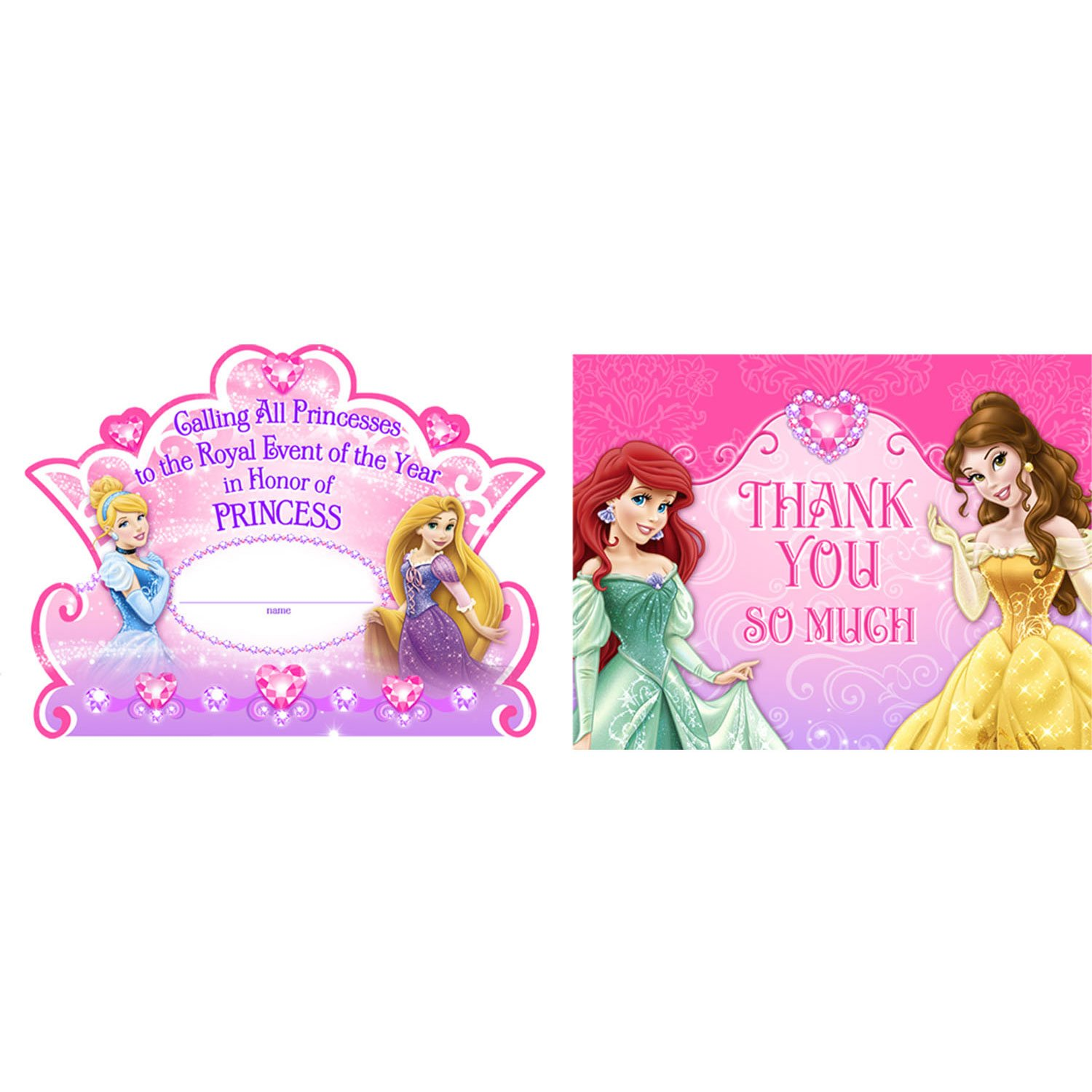 Disney Princess Birthday Party Invitations | Birthday Wikii