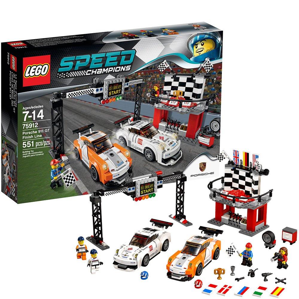 Lego 75912 – Speed Champions Porsche 911 GT Ziellinie online kaufen