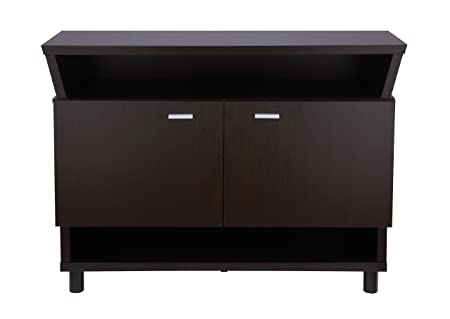 Furniture of America Crestview Contemporary Buffet Sideboard, Cappuccino