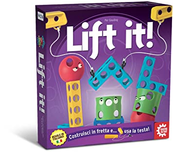 Game Factory 76137 – Lift it, Multilingue, jeu de société (français non garanti)