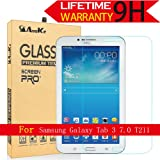 Galaxy Tab 3 7.0 Glass Screen Protector, (T210 T217A P3200 2013) AnoKe(0.3mm 9H) Film Sheild For 7.0 T210 Glass (Color: Galaxy Tab 3 7.0 T210)