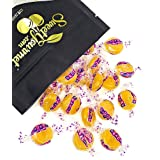 Brach's Butterscotch Buttons | Hard Candy | Wrapped bulk | 1 pound (Tamaño: 1Lb)