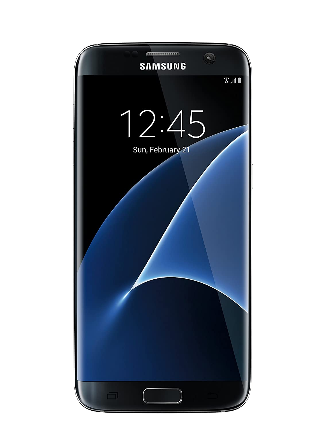 Samsung Galaxy S7 Edge 32 GB Unlocked Phone - G935FD Dual SIM - Black Oynx (International Version - No Warranty)