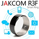 Jakcom R3F Smart Ring NFC Ring Wearable Technology Smart Tags Size #9 (Color: Black)