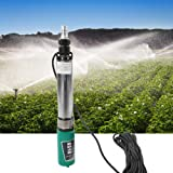 DC Deep Well Pump, 1'' 48V 60V-4/5m³-45/55m DC Deep Well Pump High Lift Solar Submersible Water Pump 20m Line