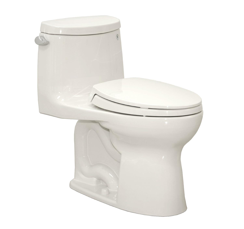 TOTO MS604114CEFG#01 Ultramax II Het Double Cyclone Elongated One Piece Toilet
