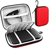 Lacdo EVA Shockproof Carrying Case for Western Digital My Passport Studio Ultra Slim Essential WD Elements SE Portable 500GB 1TB 2TB Mac USB 3.0 Porta