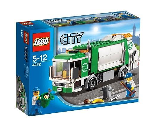 Lego City - 4432 - Jeu de Construction - Le Camion-Poubelle
