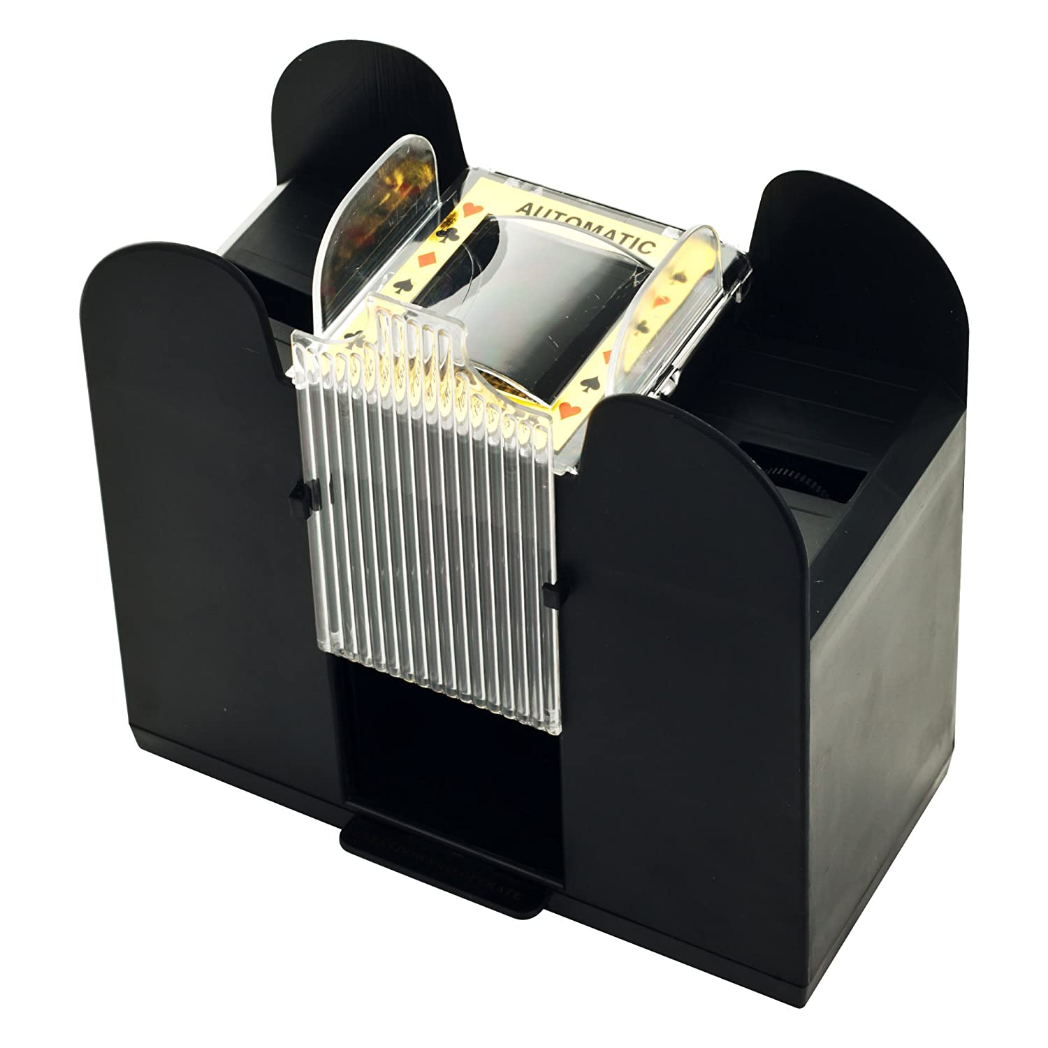 3 deck card shuffler