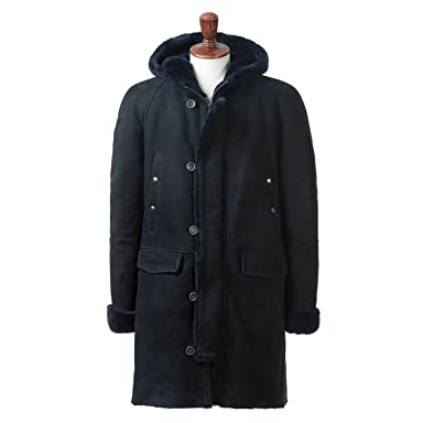 Emmeti di Franco Type N-3B Coat: Navy