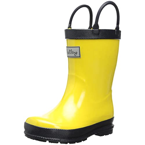 Hatley Little Boys Rainboots Yellow