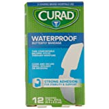 Curad CUR47442RBZ Bandage, Butterfly, Wp, 1 3/4