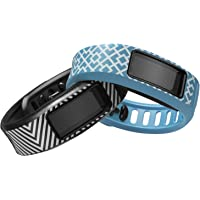Garmin Vivofit 2 Activity Tracker Signature Edition Manhattan Module Bundle