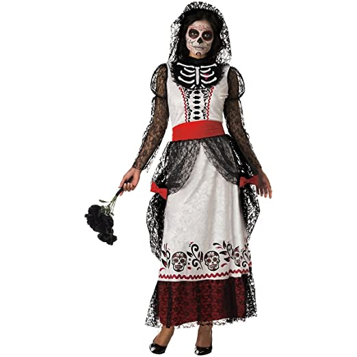 Incharacter Costumes Llc Women's Skeleton Bride Costume