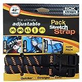 ROK Straps ROK-10306 Black/Orange 12