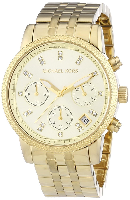 Michael Kors Damen-Armbanduhr Ritz Chronograph