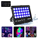 KINGBO Outdoor Blacklights High Power 30W UV LED Flood Light for DJ Disco Club,Night Clubs,UV Light Glow Bar,Birthday Parties,Blacklight Party,Aquariums and Other Entertainment Venues Stage Lighting (Color: 30w Uv Black Light)