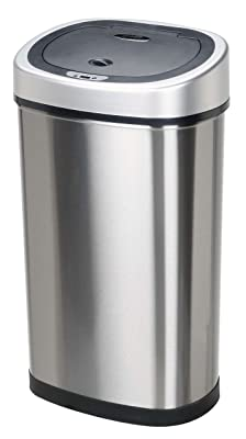 Infrared Touchless Stainless Steel Trash Can