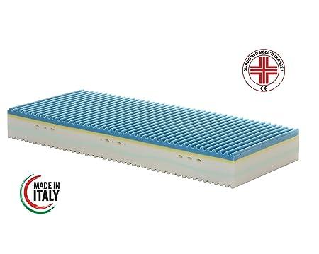 Matratze Einzelbett Memory 5Schichten Mod. Harmonie plus Größe 85x 200hoch 25cm abnehmbarer Medizinprodukt Klasse 1