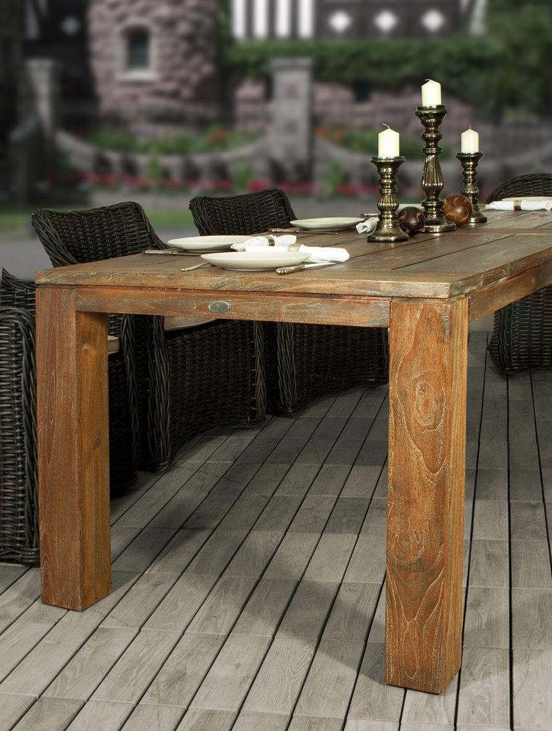 Diamond Garden Tisch Chateau 300 x 100 gealtert günstig bestellen