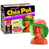 Chia Pet Stranger Things - Dustin Decorative Pottery Planter, Easy to Do and Fun to Grow, Novelty Gift, Perfect for Any Occasion (Color: Terra Cotta)