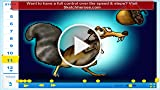 How to Draw Scrat from the Movie Ice Age 4