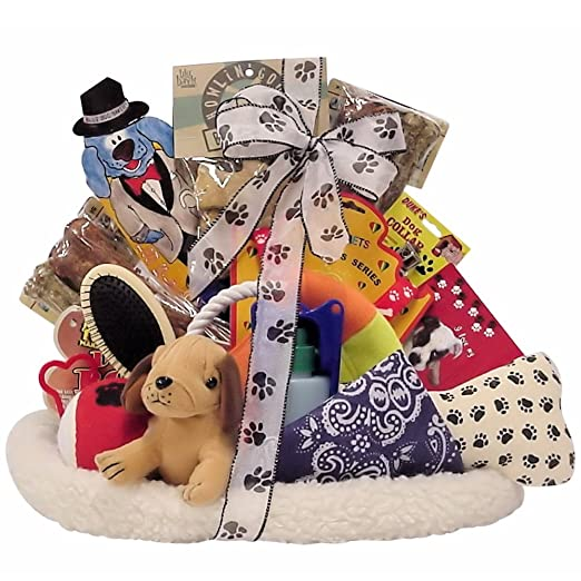 Great Arrivals Pet Dog Gift Basket, Pamper Your Pooch