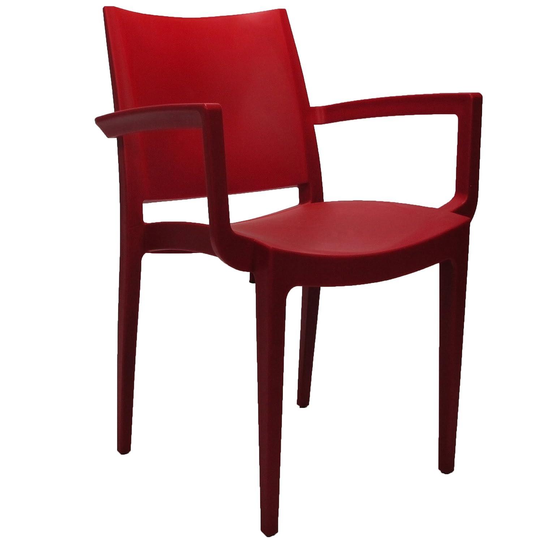 Veloso Gartenstuhl rot kaufen