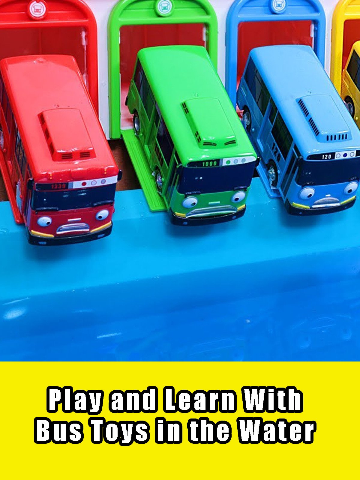 Play and Learn With Bus Toys in the Water on Amazon Prime Instant Video UK