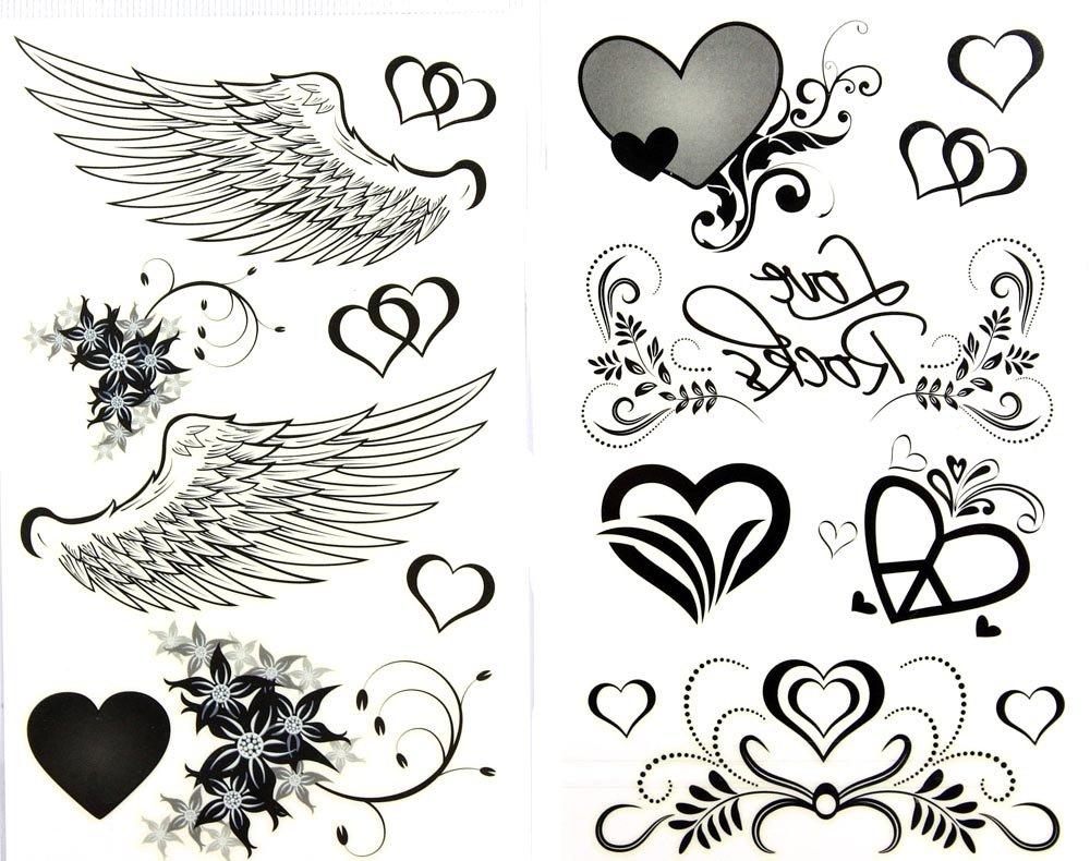 Coeur Aile Ange Tatouage Et Tatouages Ailes Dange