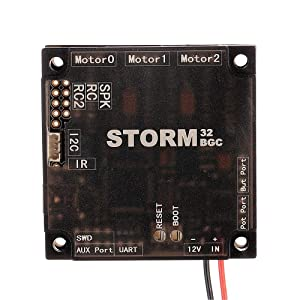 Part & Accessories RC Dron Storm32 BGC NT 32 Bit 3-Axis Brushless Gimbal Control Board Serial Port IMU V1.3 for F450 330 Aerial Photography